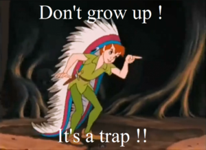 Its a trap peter pan